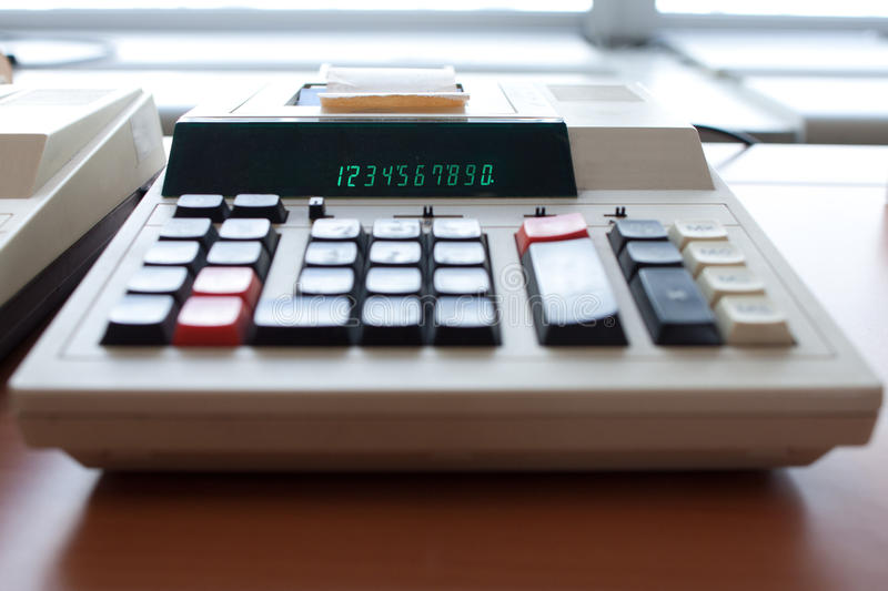 Download Old Calculator Royalty Free Stock Images - Image: 30117549