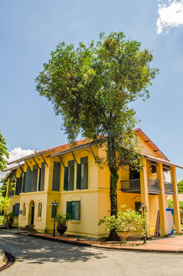 An old official residence stock photography