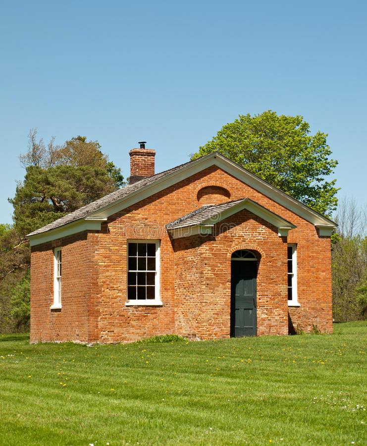 Download Old one-room schoolhouse stock photo. Image of schoolhouse - 24741016