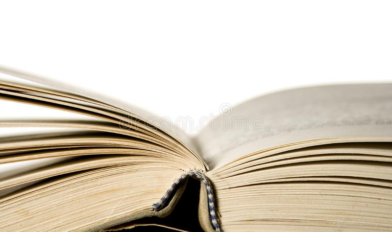 Old open book royalty free stock photos