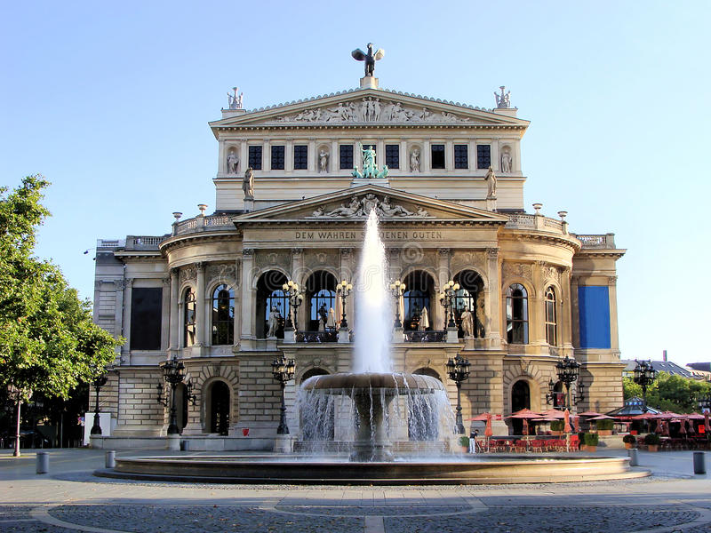 Old Opera House Royalty Free Stock Photography