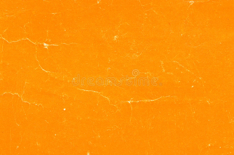 Old orange paper royalty free stock images