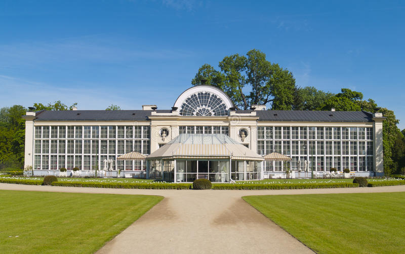 Download Old Orangery In Lazenki Park, Warsaw, Poland Stock Image - Image: 24761551