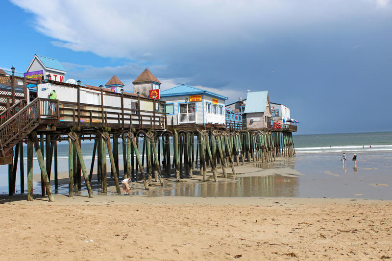 Old Orchard Beach, Maine Editorial Photography