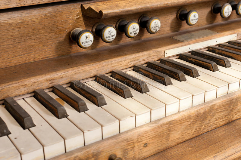 Download Old organ stock photo. Image of pattern, stops, music - 19453484