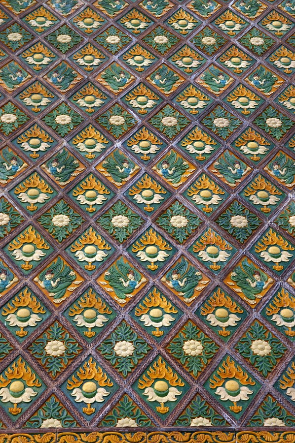Old Oriental Pattern stock photos
