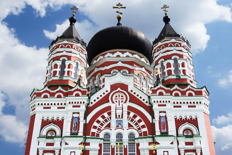 Download Old Orthodox Cathedral In Feofaniya Stock Photo - Image: 25652518