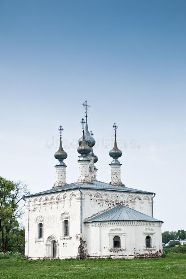 Download Old orthodox church stock photo. Image of meadow, spirituality - 14354306