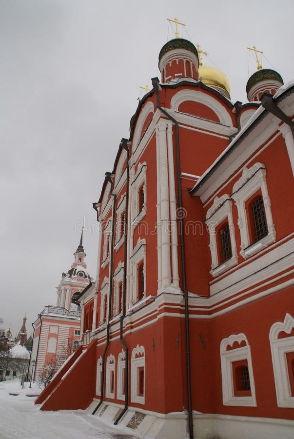 Orthodox Church in Moscow stock photos