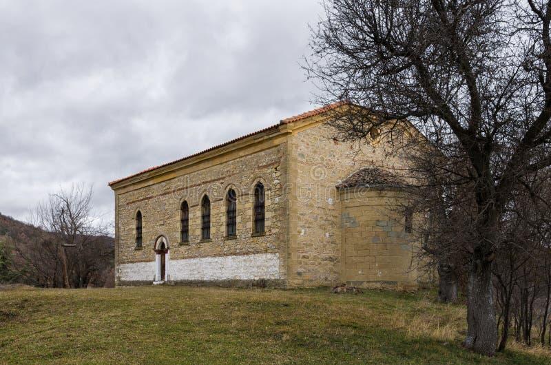 Old orthodox church in Vrontero village, Prespes lakes region, Florina, Greece. Old orthodox church in Vrontero village, Prespes lakes region, Florina, Macedonia royalty free stock photo
