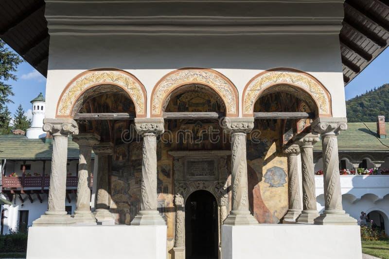 Old Orthodox Monastery of Sinaia, Romania royalty free stock photo