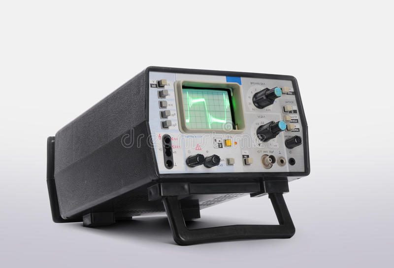 Old Oscillograph Stock Photos
