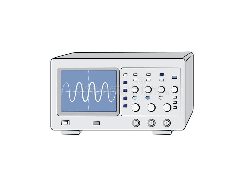 Download Old Oscilloscope Royalty Free Stock Photography - Image: 32844587