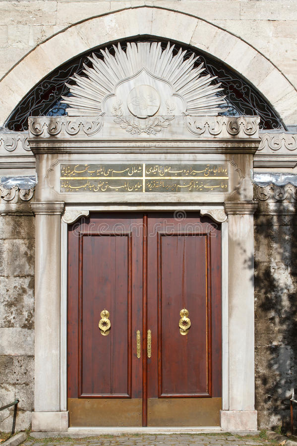 Old ottoman door - turkey stock images