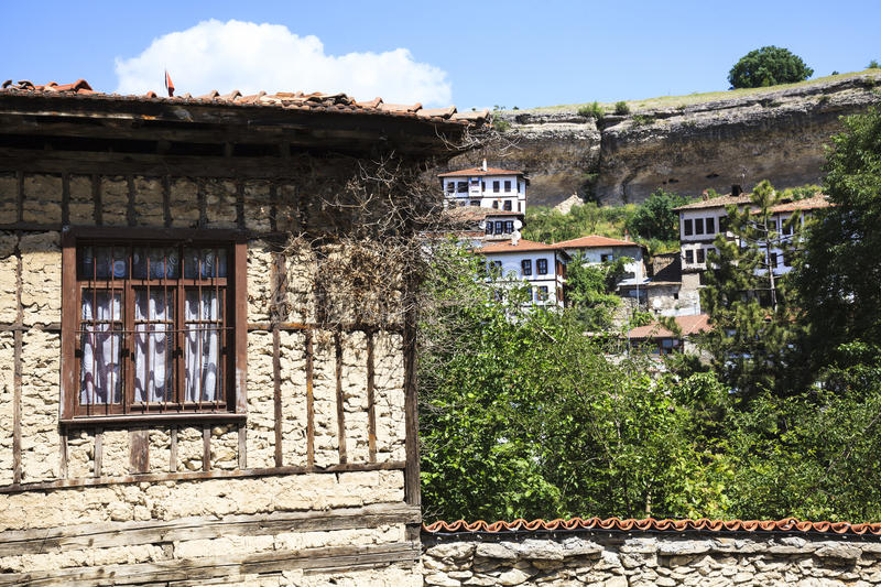 Old Ottoman houses in Safranbolu, Karabuk, Turkey. Safranbolu was added to the list of UNESCO World Heritage sites in 1994 due to its well-preserved Ottoman era royalty free stock photography