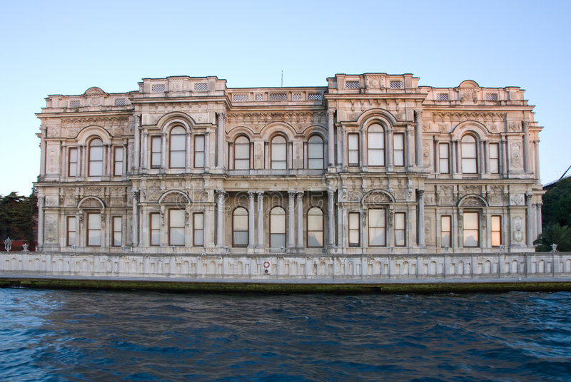 Old Ottoman Palace in Istanbul stock image