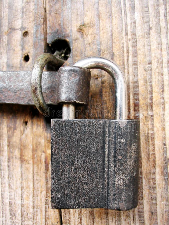 Old Padlock Free Stock Images
