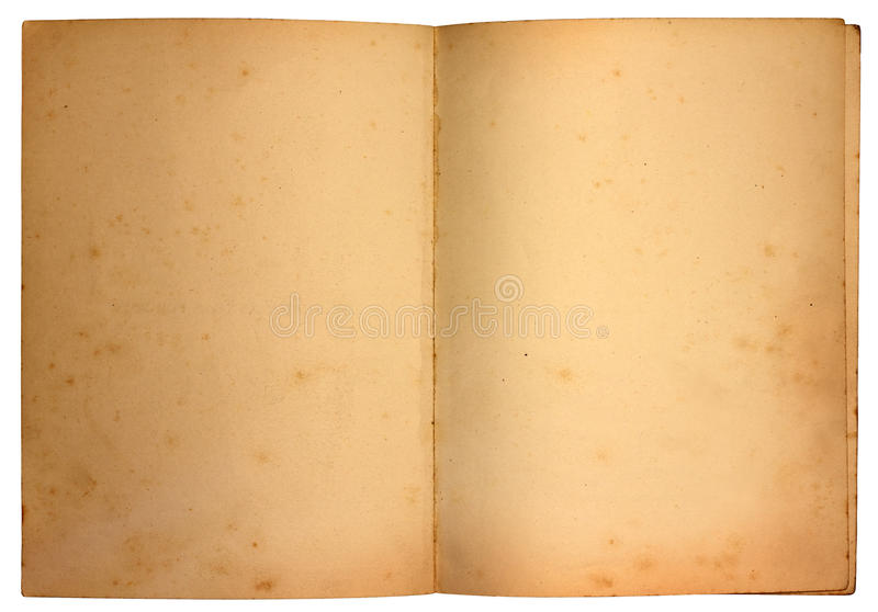 Old Pages stock photography