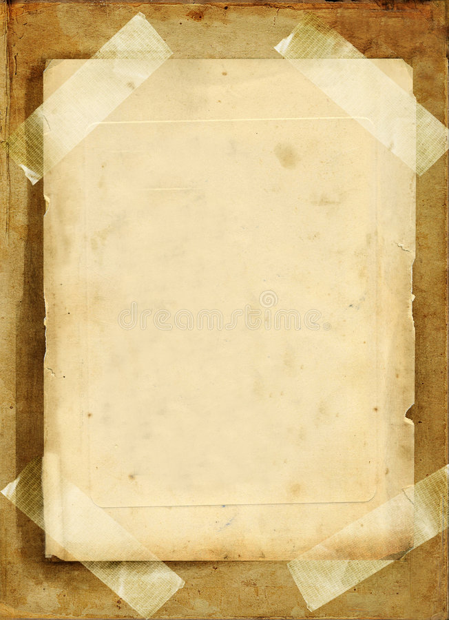 Old pages royalty free stock photography
