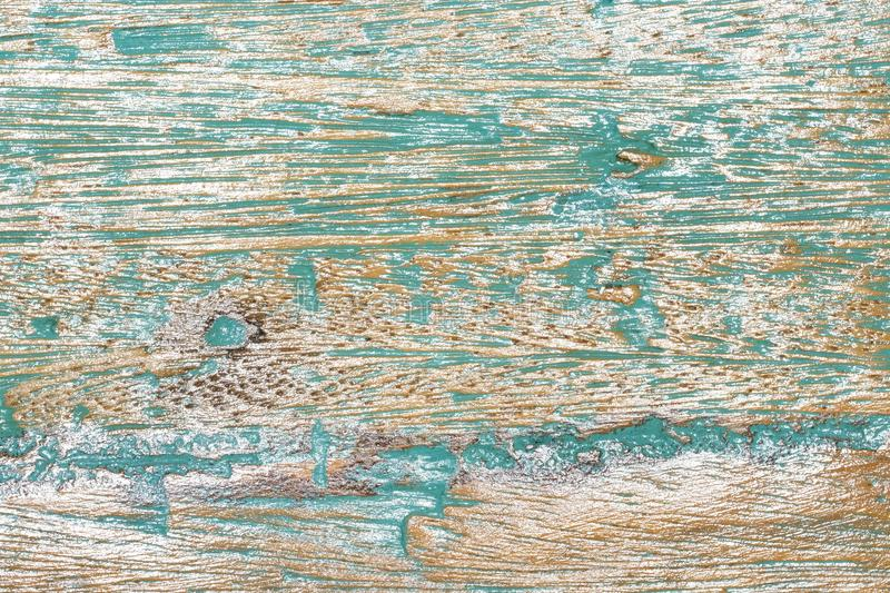 Old painted wood background. Bkue and green old painted wood background royalty free stock images