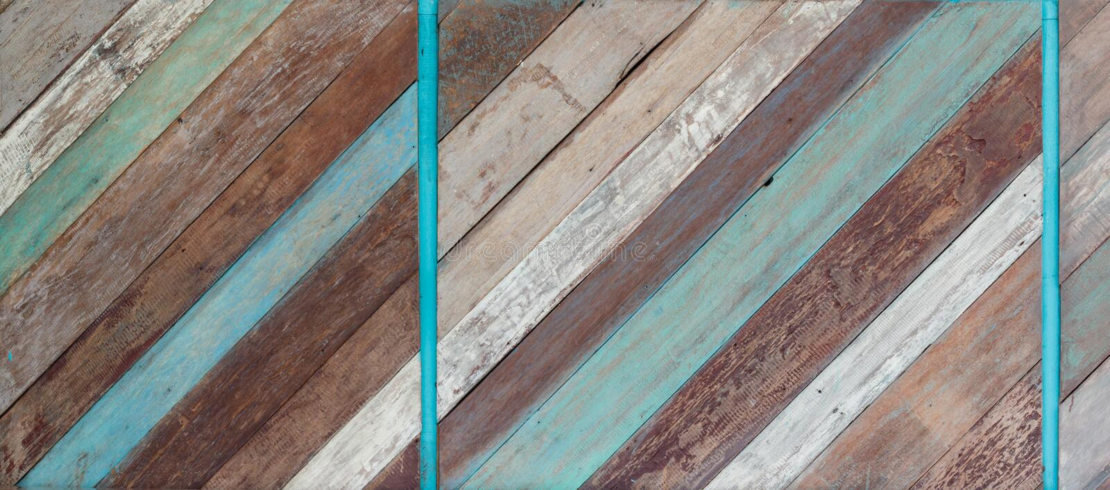 Old Painted Wood Background Texture. An old painted wood texture wall background with grain stock photos