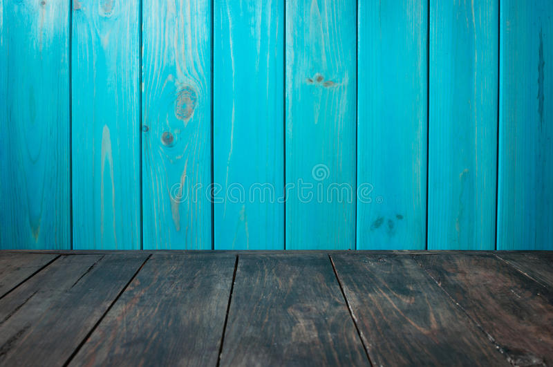 Old painted wood wall - texture or background.  royalty free stock photography