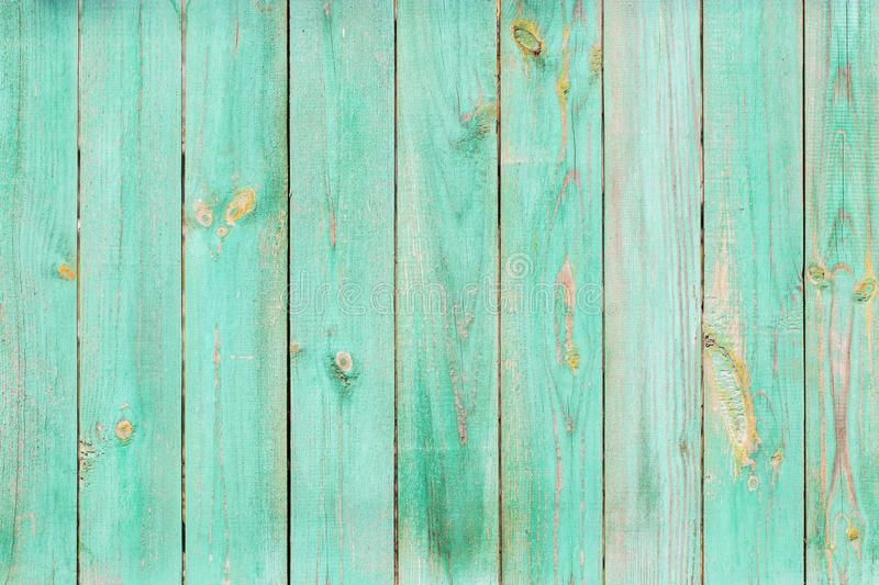Old painted wood wall - texture. Or background stock photo