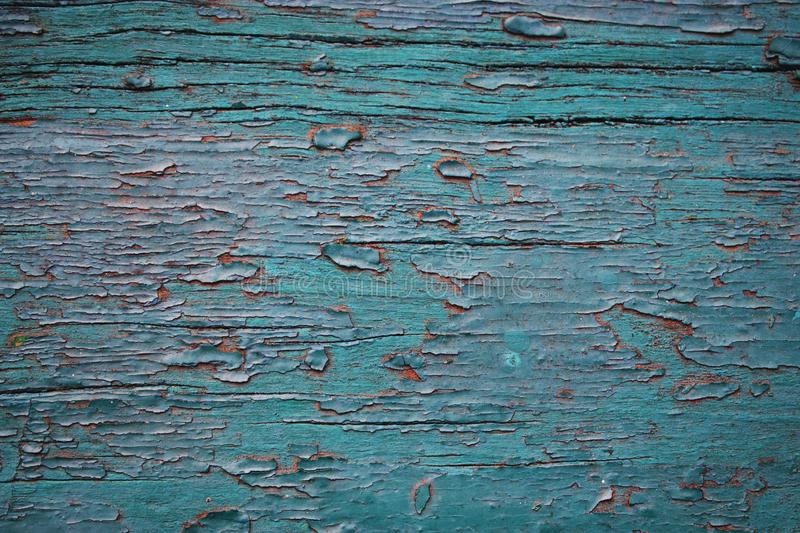 Old painted wooden plank stock photos