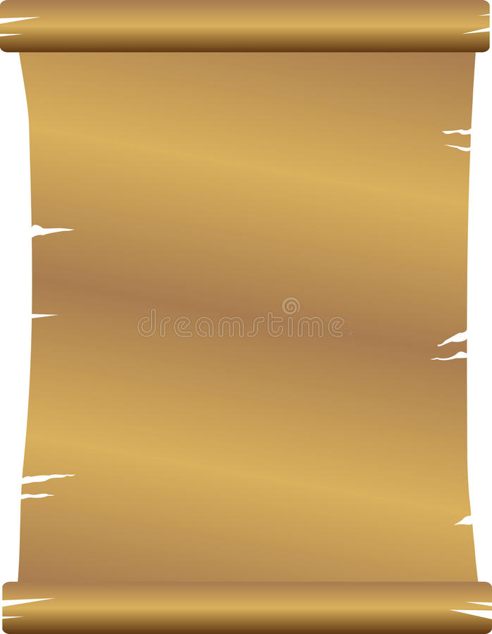 Old paper. Old vintage paper. illustration isolated stock illustration