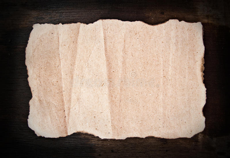 Download Old paper stock photo. Image of burnt, structure, empty - 15448900