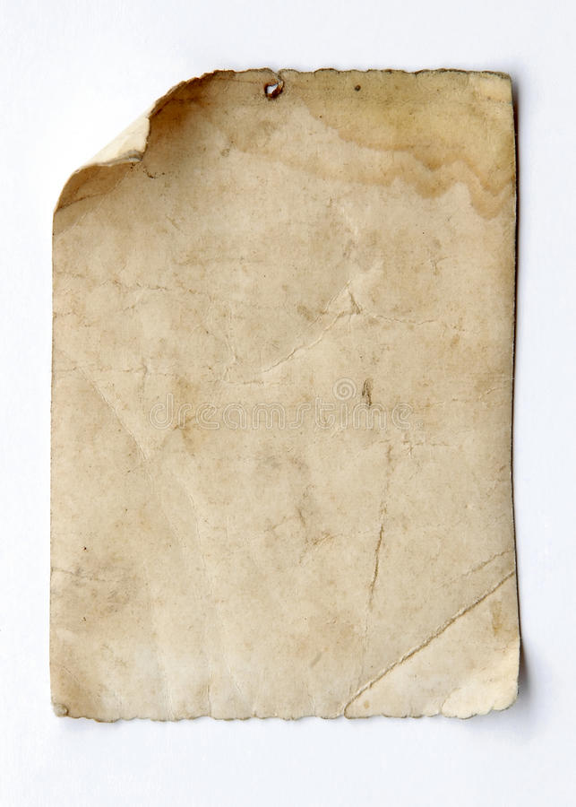 Old paper stock image
