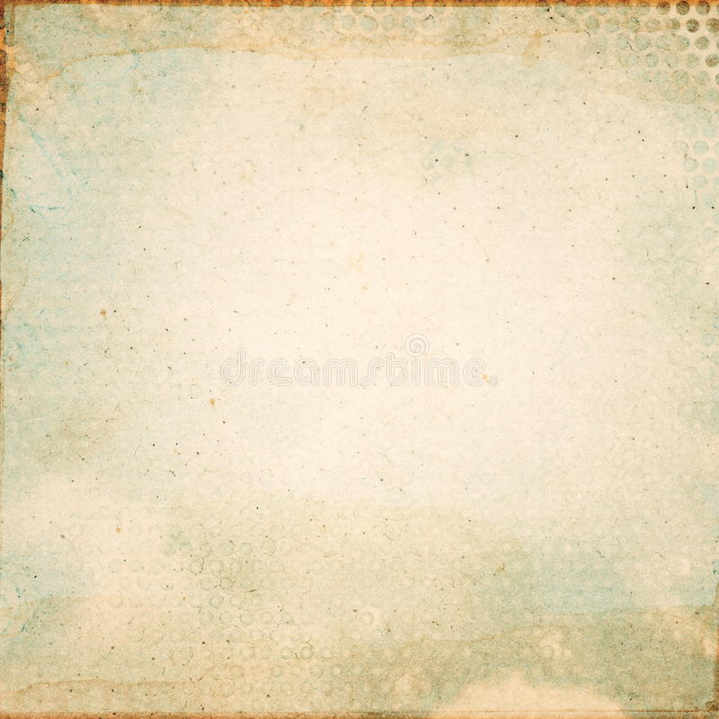 Old paper. Abstract grunge aged paper background royalty free stock photos