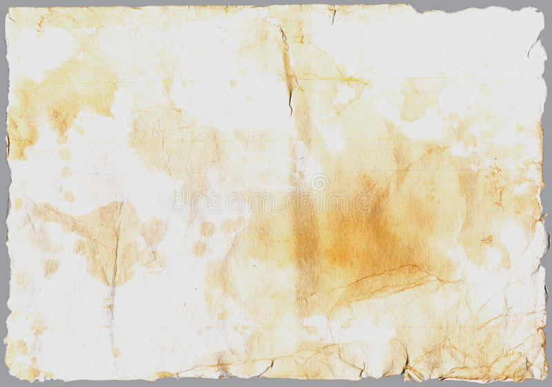 Old Paper. Large grunge antique old paper texture royalty free stock photos