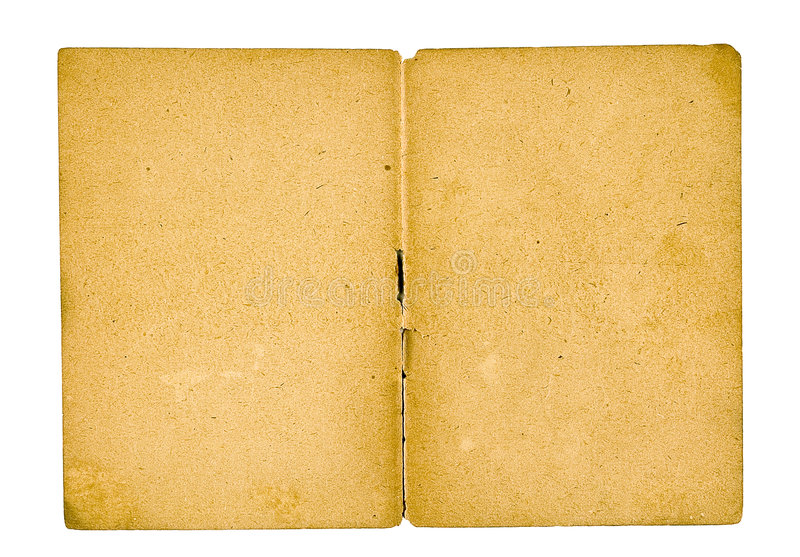 Old paper-2. Page from the ancient book on a light background royalty free stock image