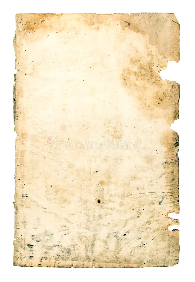 Old paper. On a light background royalty free stock images