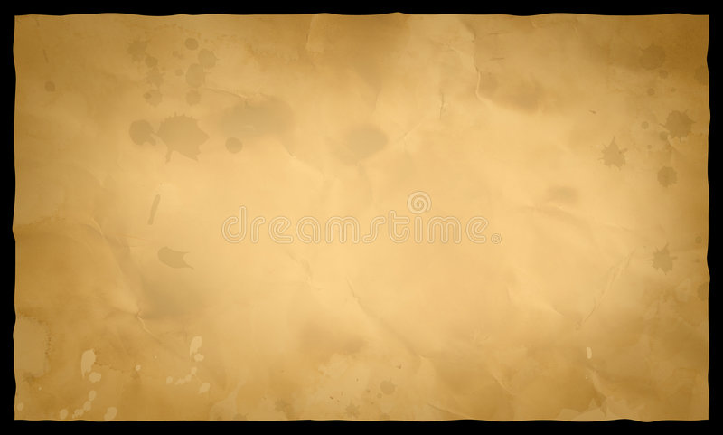 Download Old paper stock illustration. Image of blobby, blotchy - 2570956