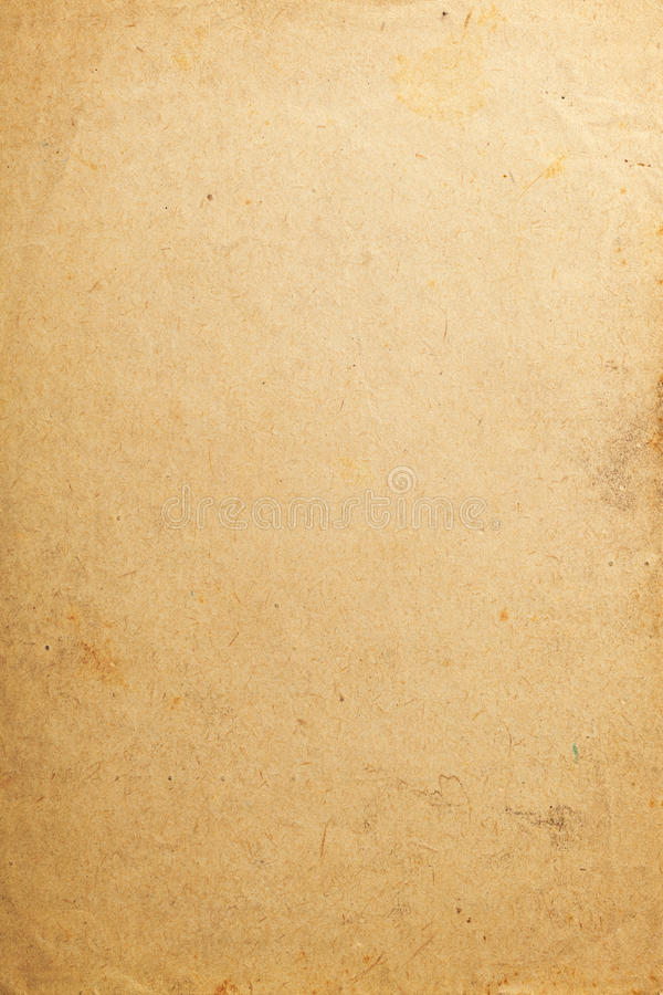 Old paper. Texture for background, vintage style stock image