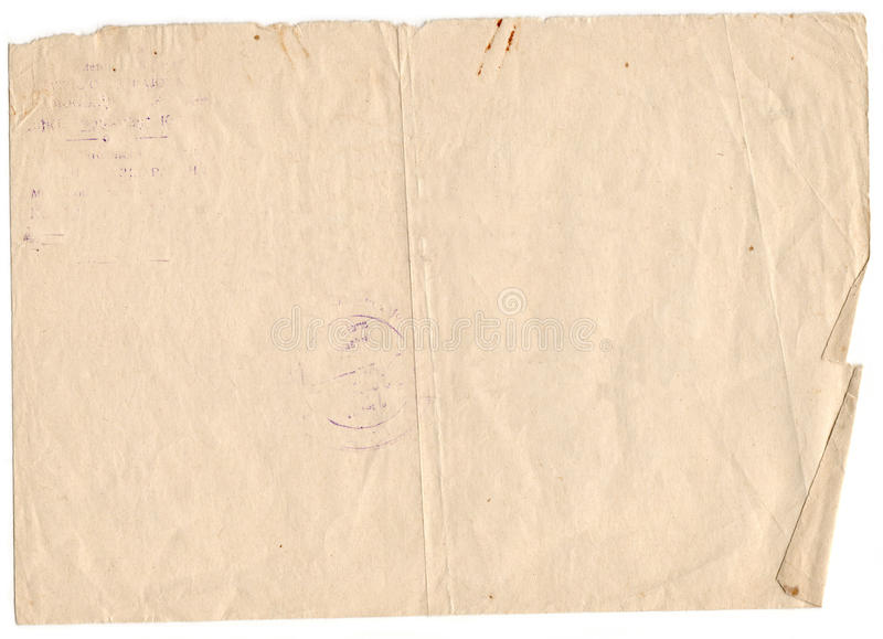 Old paper background. Vintage paper background royalty free stock photos