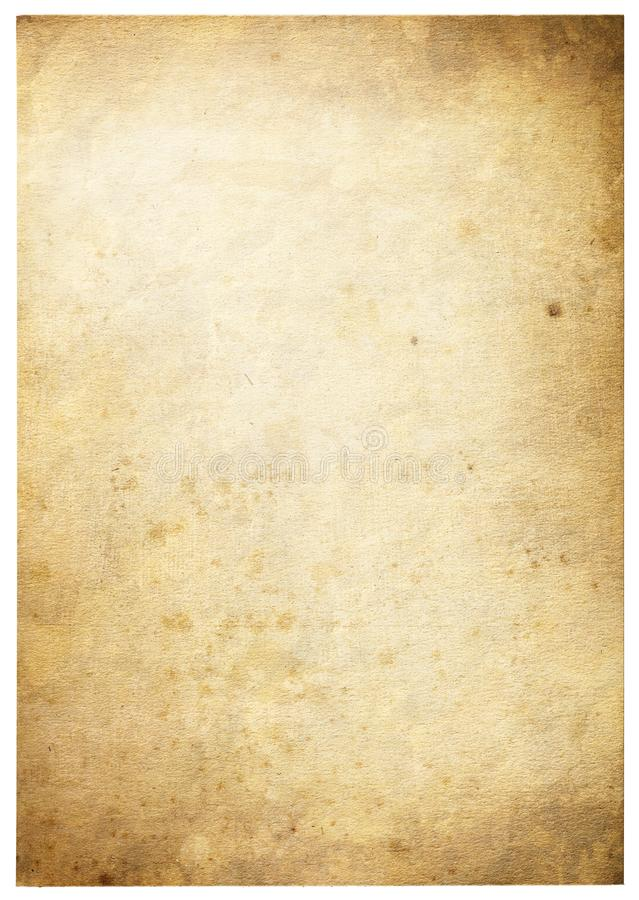 Old paper background with space for text or image royalty free stock photography