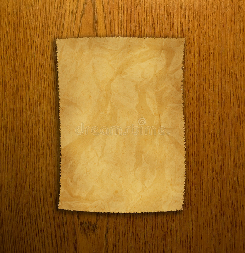 Download Old Paper And Brown Wood Texture Stock Image - Image: 8455979