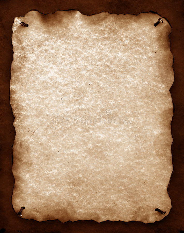 Download Old Paper With Burned Edges Stock Photo - Image: 4548400