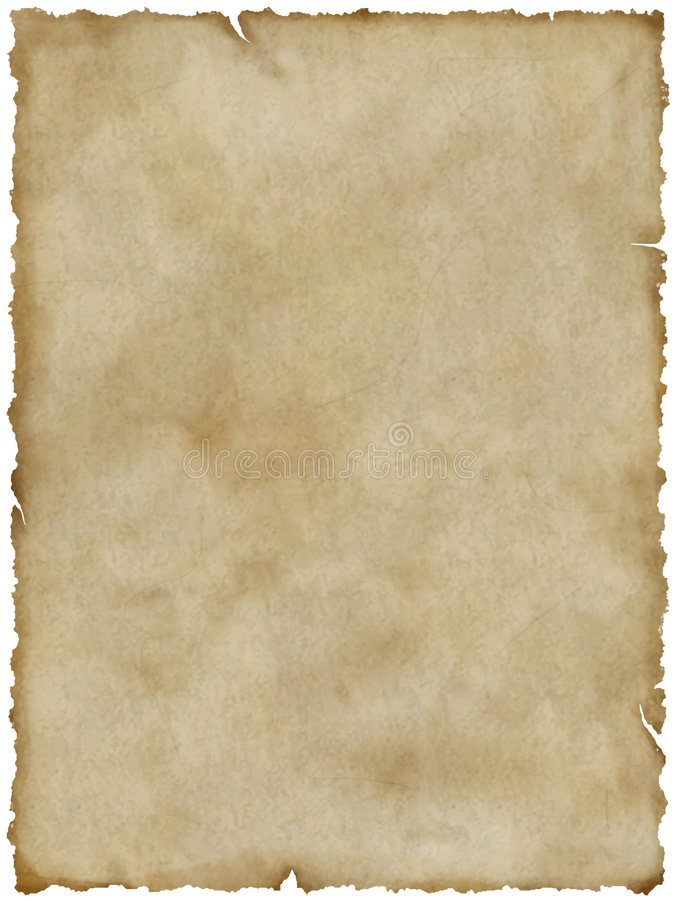 Download Old Paper (with Clipping Path) Stock Illustration - Image: 4761002