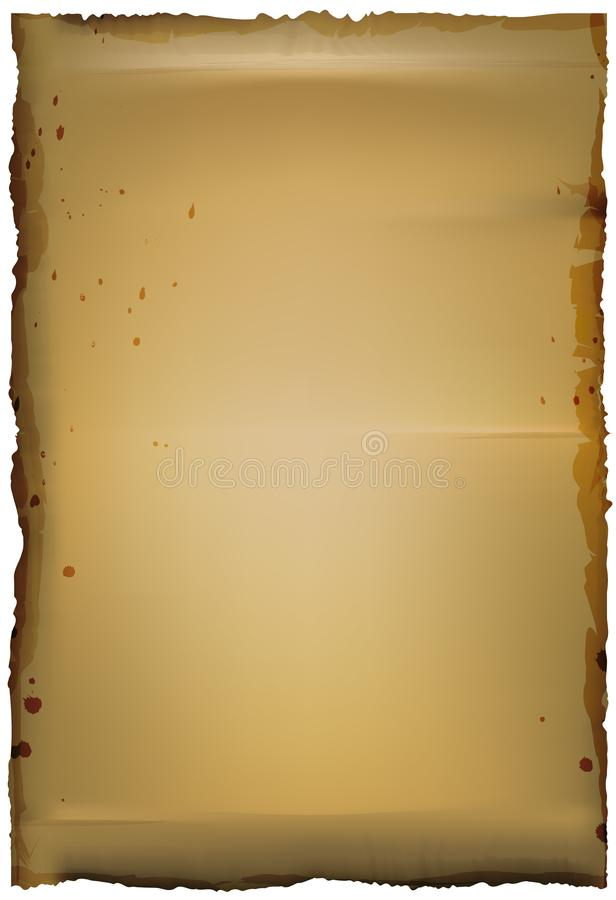 Old paper, coffee color,background copy space Vectorgrunge, retro, background, page, vintage, paper, old, ancient, brown, blank, d stock illustration