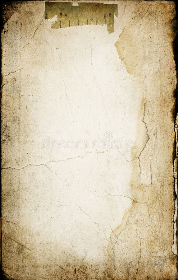 Download Old paper with cracks stock photo. Image of background - 5683204