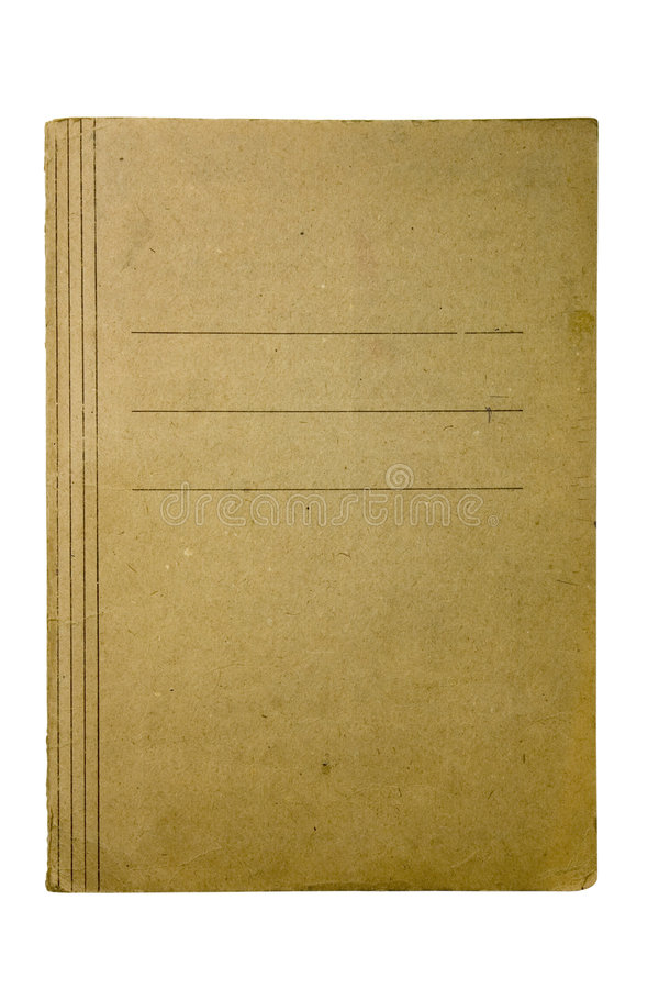 Old paper folder royalty free stock images