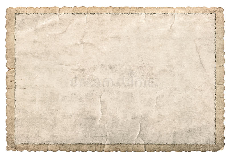 Old paper frame photos and pictures. Used cardboard texture royalty free stock photos