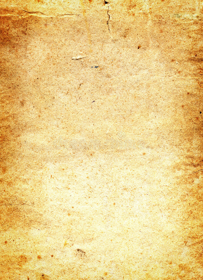 Old paper grunge background. With space for text stock illustration