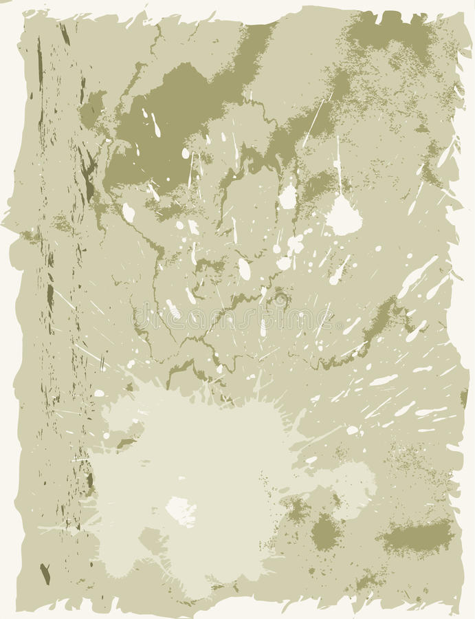 Old paper grunge backgrounds vector illustration