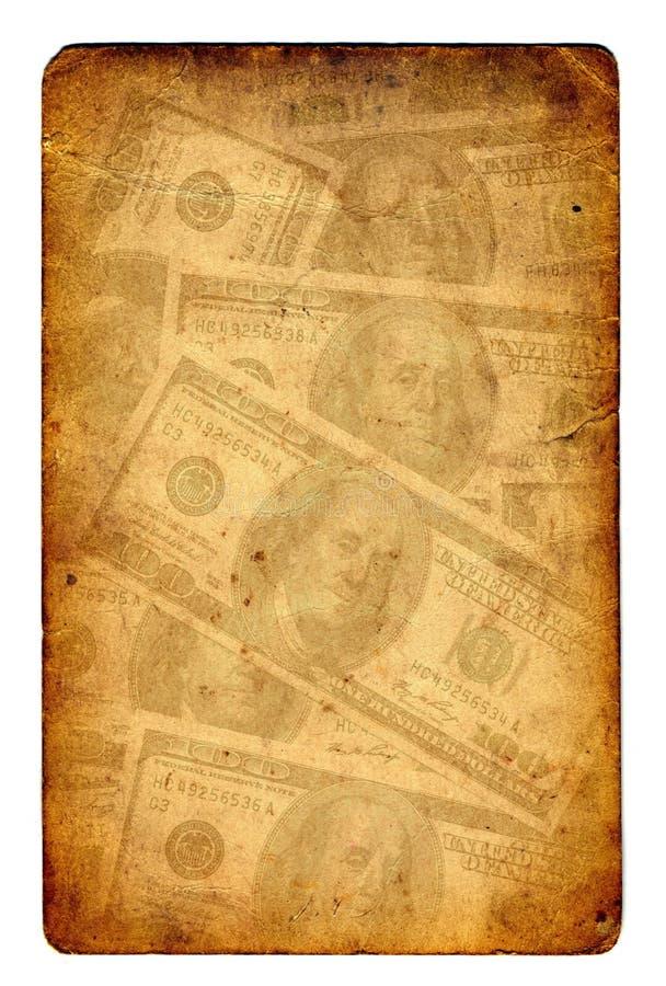 Download Old Paper Grunge Dollar Background Stock Illustration - Illustration of aged, brown: 7830874
