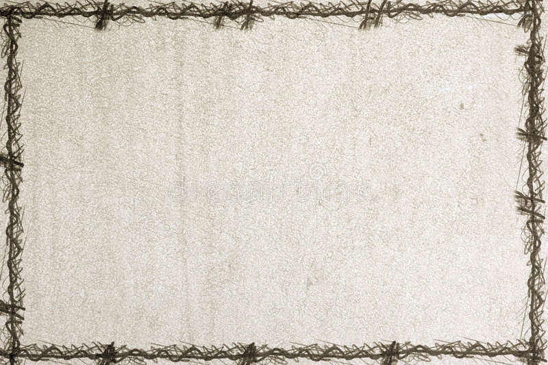 Old paper with a grunge frame vector illustration